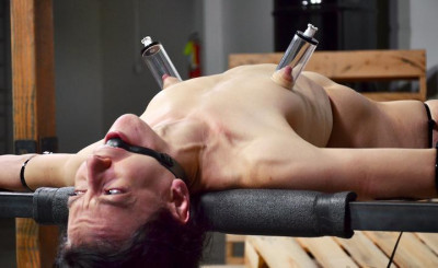 Slave Brutally Deep Throated Without Mercy
