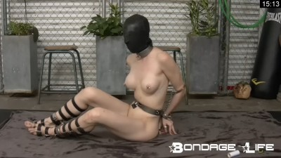 BondageLife - Rachel Greyhound Does Self-Bondage 720p