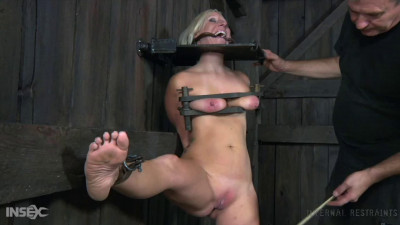 Tight bondage, spanking and torture for naked blonde part 1 HD 1080p