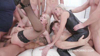 Brittany Bardot and Sindy Rose Anal Challenge Part 2