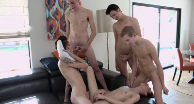 So Much Bareback Twink Cock To Enjoy!