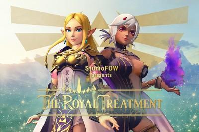 Description The Royal Treatment
