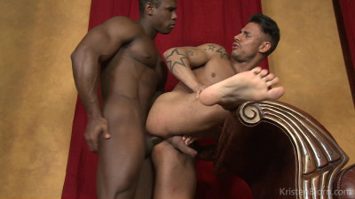 White boy loves black dick