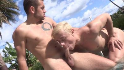 Jared Shaw & Johannes Lars In Outdoor Fuck