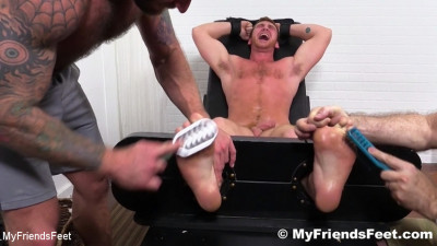Jerked and Tickle Tormented – Rich, Drake Jaden and Connor Maguire – HD 720p