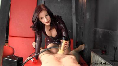 Mistress Lola Ruin – Mistress Ruins Your Orgasm Pov!