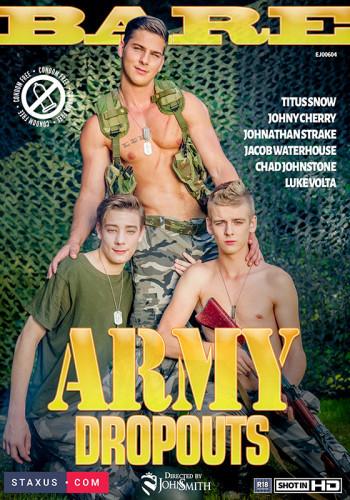 Bareback Army Dropouts(HD)- Titus Snow, Johny Cherry, Johnathan Strake