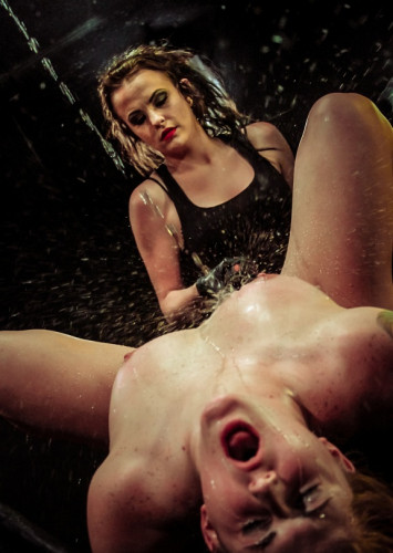 The hot and horny pain slut Aryah May Used & Wrecked by Mila Blaze & Brooklyn Daniels