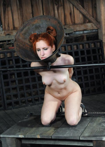 Red-haired Beauty For The First Time In BDSM