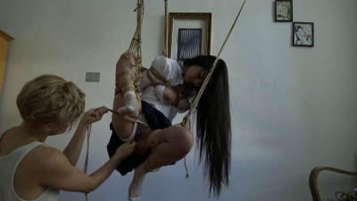 Kinbaku – Me suffering in rope and shared an intense moment