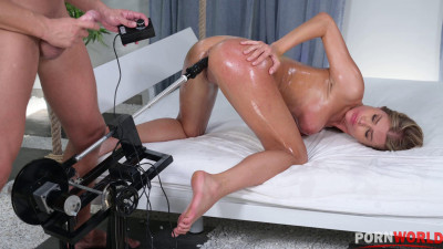 Punishment Sees Zlata Shine Whipped, Bound, Choked, and Stretched Out