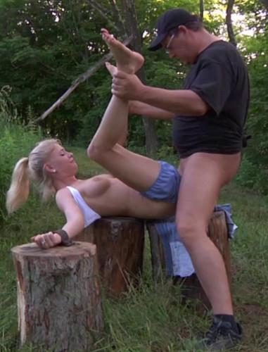 Bondage fantasies from sexy porn star Allie James