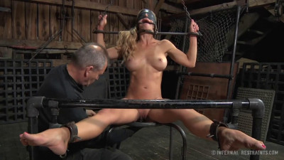 Bondage, strappado, spanking and torture for bitch part 2 Full HD