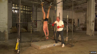 Hung Upside Down – Used As A Punching Bag