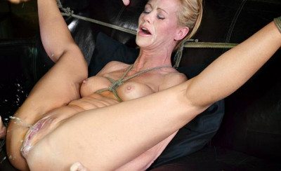 Hardbodied Blonde MILF Simone Sonay Roughy Fucked By Black Cock , Extreme Squirting