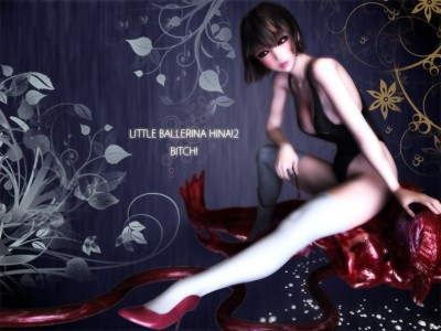 Description Ballerina Hina 2 - 3d HD Video