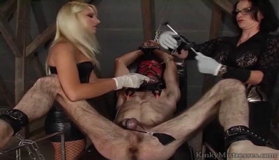 Nipple torment and cbt with lady jane