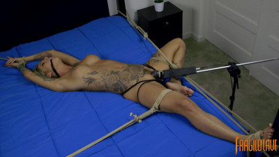Description Kleio Valentien - Uncontrollable Orgasms, Spread and Helpless