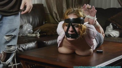 He Throat Fucked Me with His Feet Then Left Me Hogtied 2 part — BDSM,Humiliation,Torture HD 720p