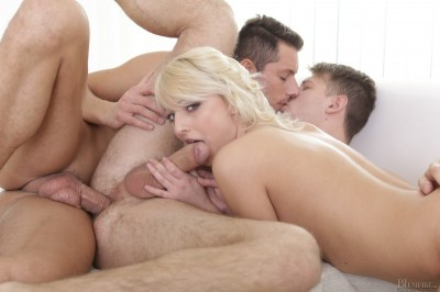 Katy Rose, Nick Gill, Miky Bolt ( First time, but not the last! ) - bisex, mirror, english, download