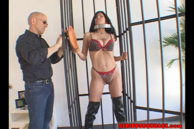 Ashley Renee – Vertical Cage
