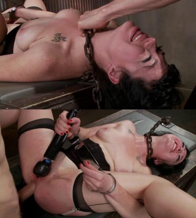 Hard bondage, strappado and torture for sexy model part 3