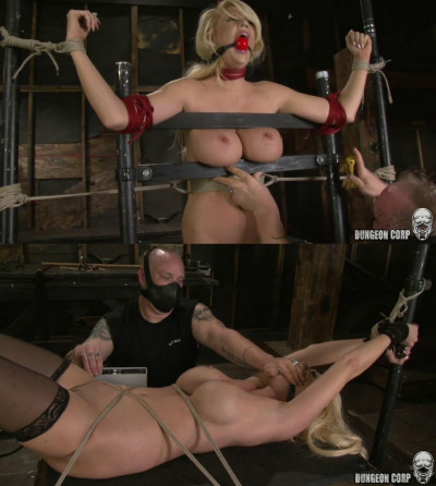 Bondage, spanking, domination and torture for sexy blonde part 2