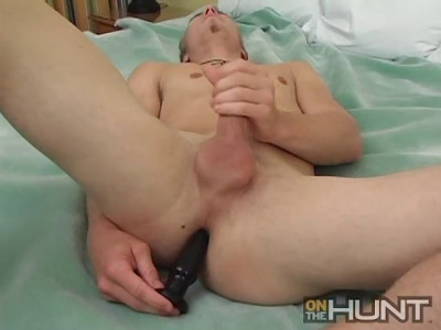 James Oak playing with Toys