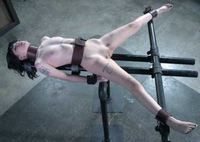 Sexy Spinning Device Bondage – Charlotte Sartre