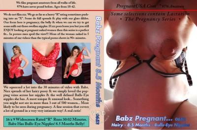 Babz Pregnant - 8.5 Months