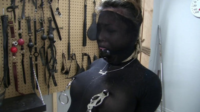 The Outfit Set the Scene Part 1 - Asiana Gags, Hoods and Clamps Herself