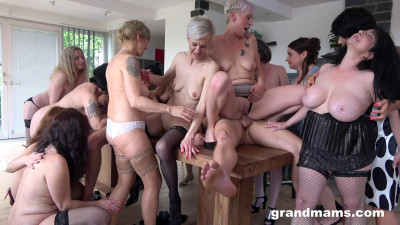 Horny Grandmams And Toyboys Part 2 (2020)