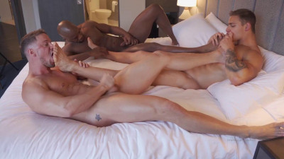 Matt Luscious aka Creamy Gorilla, Skyy Knox & Levi Belle