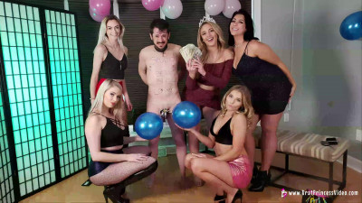 3 Month Chastity Blue Ball Party