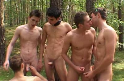 Description Hot Summer Orgy At Wood