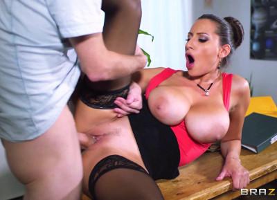 Student Seduces His Busty Lady Teacher