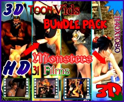 Monsters island Bundle pack