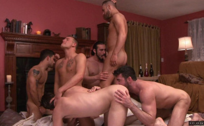 Description Raw gangbang with famous bubble butts