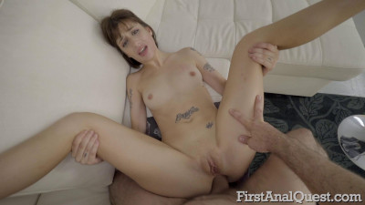 Description Tattooed Italian hottie Silvia Soprano's first anal sex scene
