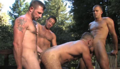 Attracting Orgy Through Sexy Males