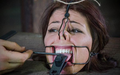Dungeon Slave In Bdsm Action