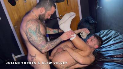 Julian Torres & Blew Velvet – Tatted Body Odor Breeding Pigs