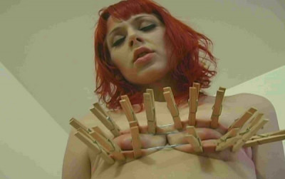 Excruciating Red-haired Bitch Simone