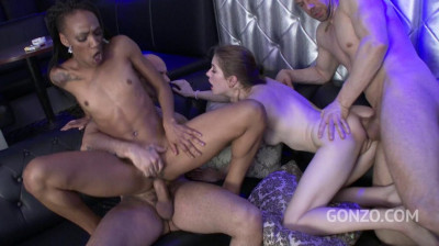3on2 Gangbang Party At Strip Club