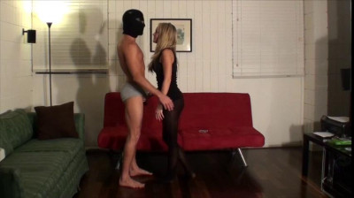 Nut Bust Game in Black Tights