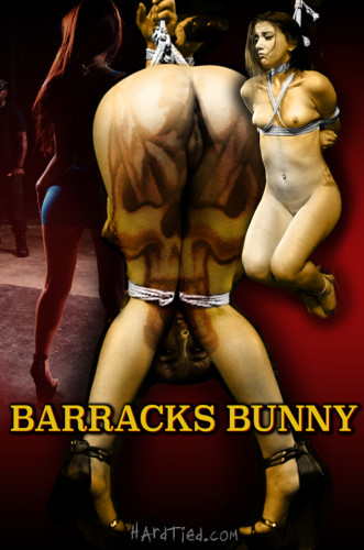 HardTied Mandy Muse Barracks Bunny