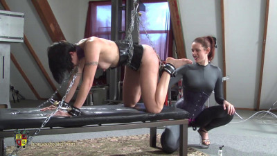 Chained, Cuffed and Caned