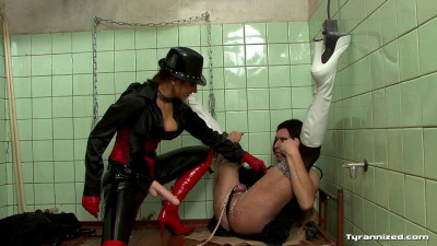 Extreme Cock And Ball Femdom Play