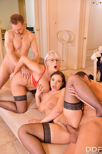 Sofia Lee, Angel Wicky – Voluptuous Vixens Orgy Surprise (2020)