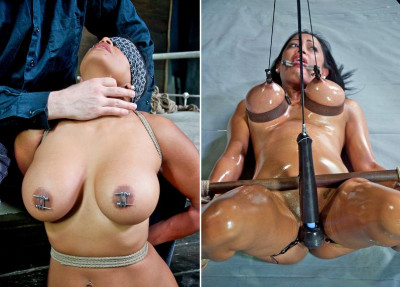Hot oil party in BDSM